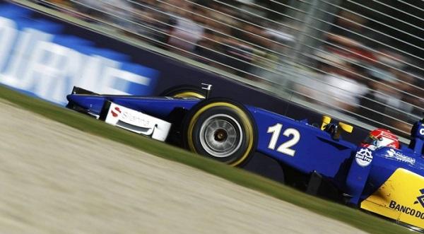 O Sauber número 12 de Felipe Nasr, que chegou em 5º no GP da Austrália e obteve o melhor resultado de um brasileiro na estreia na Fóirmula-1.