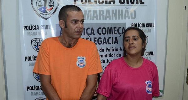 O casal Maria Ivonete Lima Pimentel Lucena e Fabiano Rodrigo Lucena.