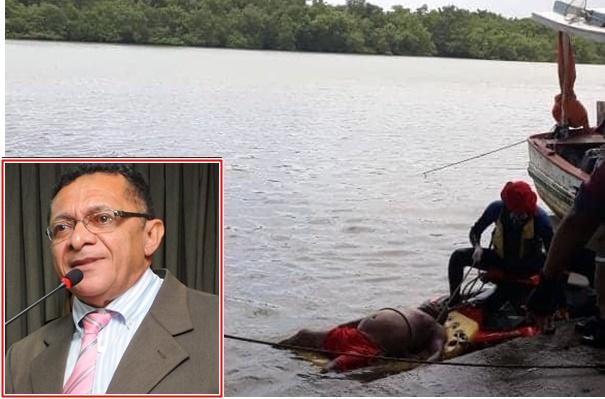TRISTEZA: Corpo do Advogado e ex-vereador de São Luís, Dr. Damasceno é encontrado nas águas do Rio Anil.