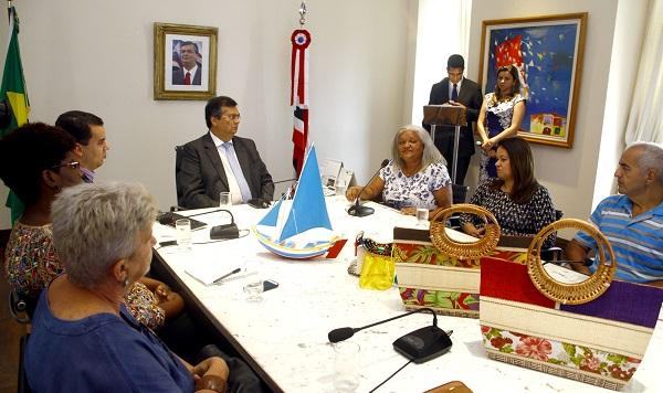 O governador Flávio Dino destacou que o fortalecimento do artesanato no Maranhão tem um objetivo claro do Governo de pluralizar o desenvolvimento.