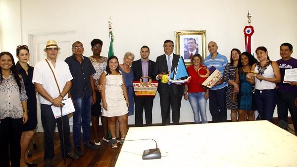O governador Flávio Dino destacou que o fortalecimento do artesanato no Maranhão.