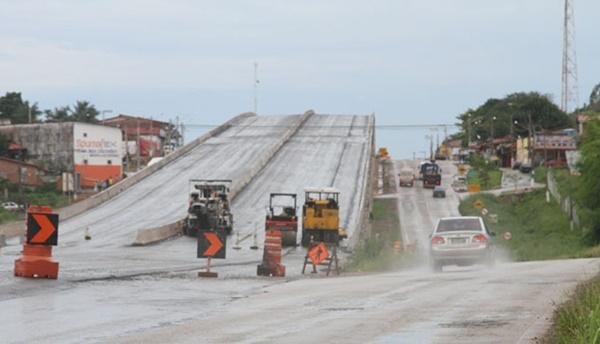Obras do viaduto de Bacabeira já foram concluídas, diz DNIT.