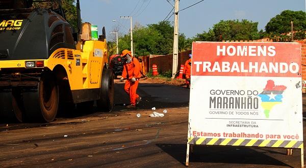 Obras rodoviárias estão sendo realizadas também em benefícios dos municípios do 'Mais IDH'.