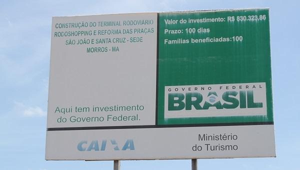 PLACA COM ORÇAMENTO.