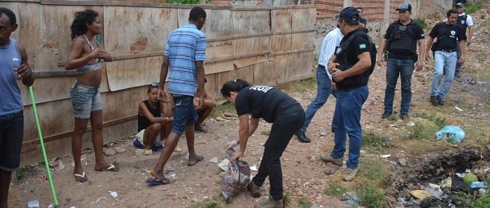 POLÍCIA EM AÇÃO AOS AOS DEPENDENTES QUÍMICOS.