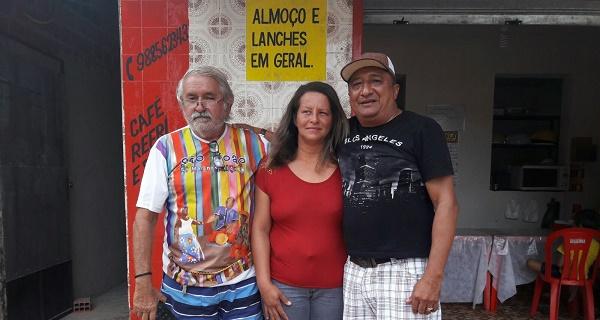 PRÉ-CANDIDATO ACÁCIO PINHO, LUCYANNI CASTRO E O TENENTE CARLOS.