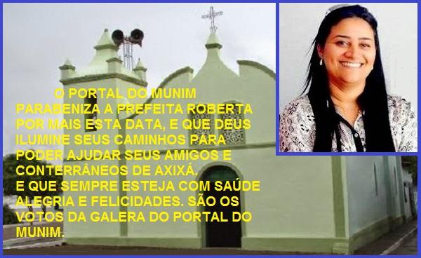 PREFEITA ROBERTA BARRETO.