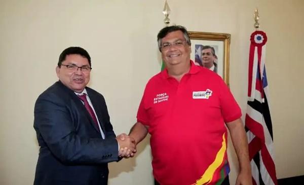 Prefeito George Luiz é recebido pelo governador, que assegura novos investimento para o município de Primeira Cruz.