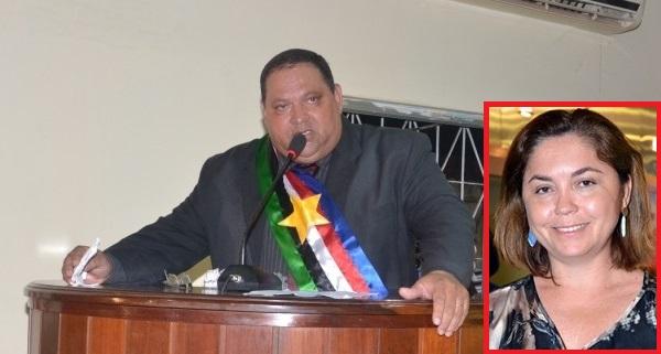 PREFEITO TIM O TODO ENROLADO E LUIZA MOURA DA SILVA ROCHA.
