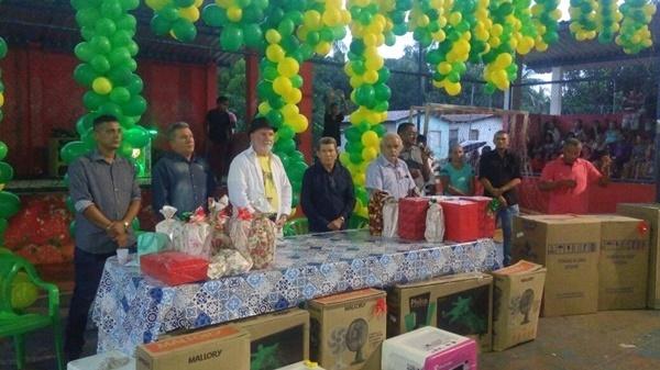 Prefeito Tonhão realiza grande festa no Dia das Mães em Cachoeira Grande.