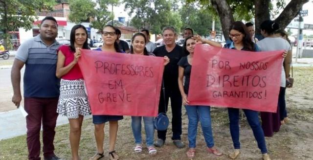 Prefeito maltrata Professores de Santa Rita eles denunciam caos na Educação e deflagram greve.