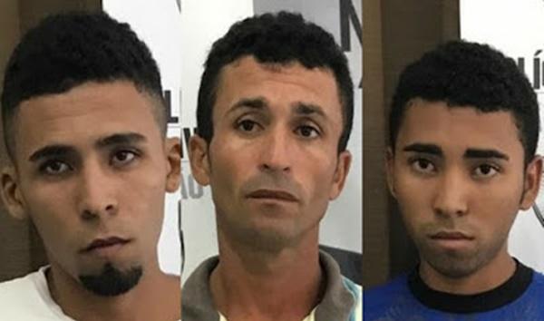 Presos em Santa Rita suspeitos do assassinato do vereador Miguel Gogó.