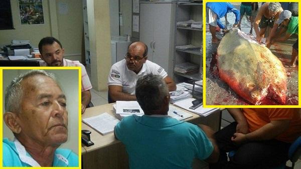 Pescador prestou depoimento na Delegacia do meio ambiente.