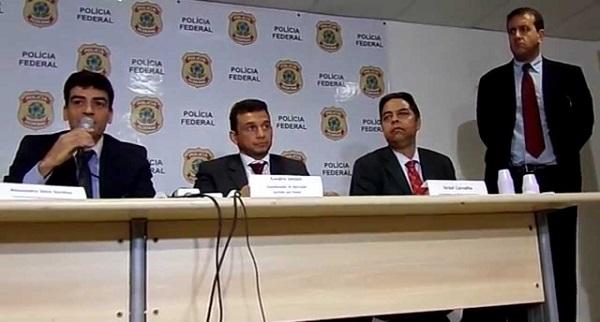 Polícia Federal na operação sermão aos peixes no Maranhão.