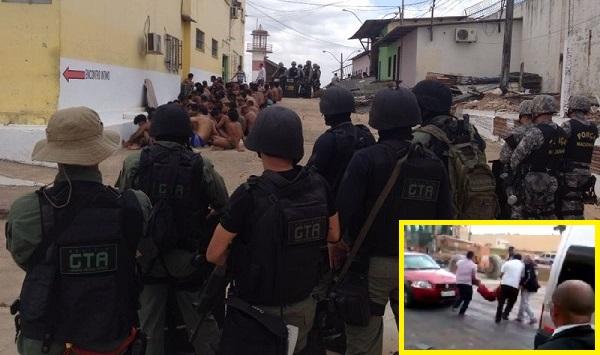 Polícia controla motim em Pedrinhas.