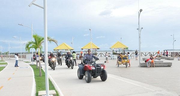 Policiamento reforçado nos pontos turísticos da capital.
