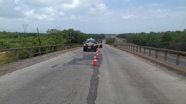 ATENÇÃO MOTORISTAS: Ponte do Estreito dos Mosquitos será interditada amanhã desta segunda-feira (27).