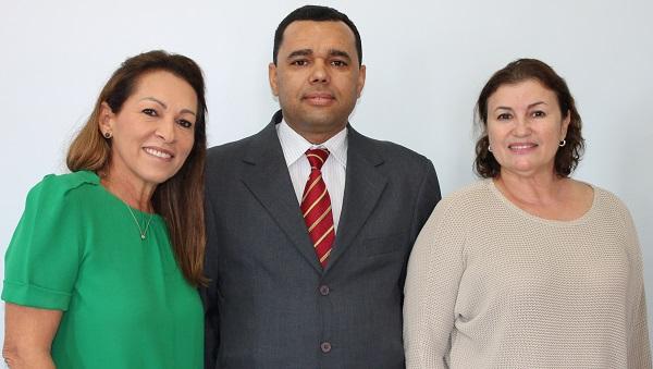 JUIZ EDMILSON LIMA TOMA POSSE NA TURMA RECURSAL DE PRESIDENTE DUTRA.