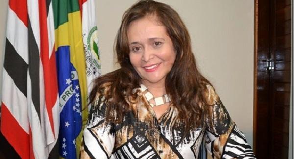 Prefeita de Açailândia Gleide Santos.