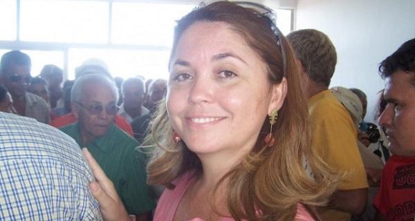 Prefeita de São João do Sóter, Luíza Moura da Silva Rocha.