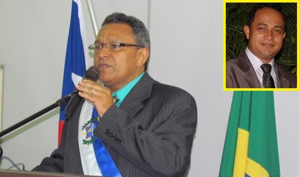Prefeito Clodomir de Oliveira(PRTB) e o vice Messias Aguiar estão fora do cargo.