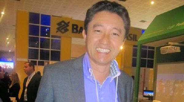 Prefeito de Grajaú, Júnior Otsuka (PT).
