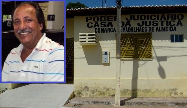Prefeito de Magalhães de Almeida, João Cândido Carvalho Neto.