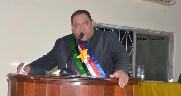 Prefeito de Santa Rita, Antônio Candido Santos Ribeiro, o Tim (PRB).