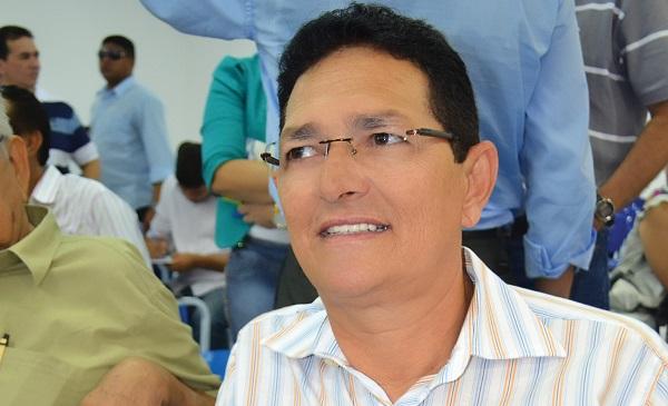 Prefeito do município de Mirinzal, Amaury Almeida.