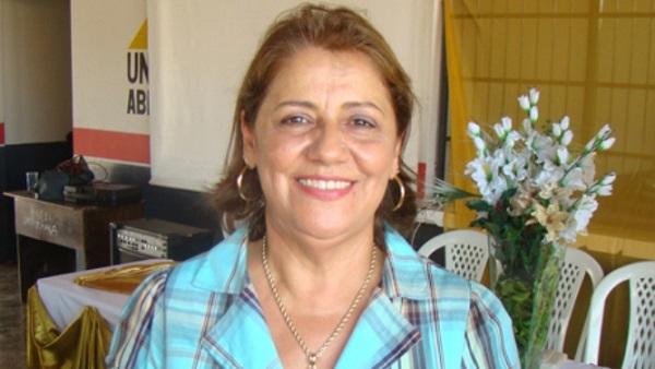 Presa a ex-prefeita de Dom Pedro, Arlene Barros.