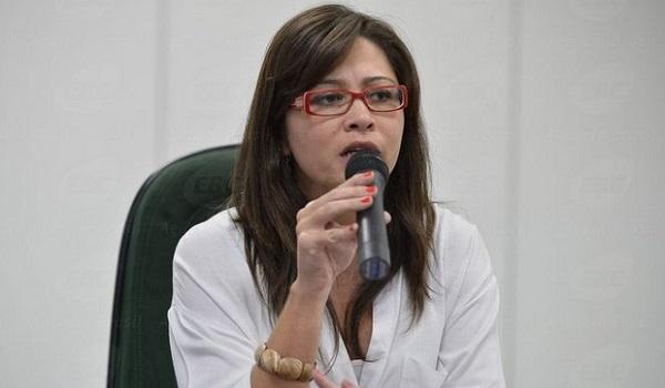 Presidenta da Funai, Maria Augusta Assirati.