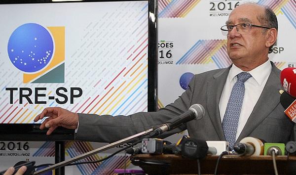 Presidente do TSE (Tribunal Superior Eleitoral), ministro Gilmar Mendes.