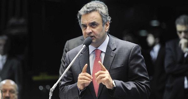 Presidente nacional do PSDB, Aécio Neves (MG).
