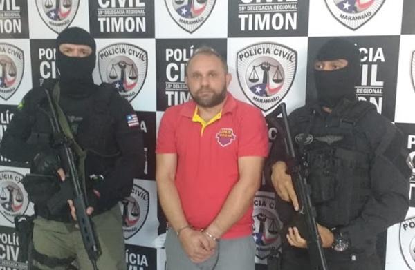 Líder de quadrilha de estelionatários de Brasília é preso no Maranhão.