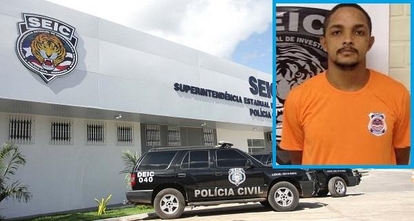 Preso o técnico em eletricidade Luís Eduardo Souza Silva.