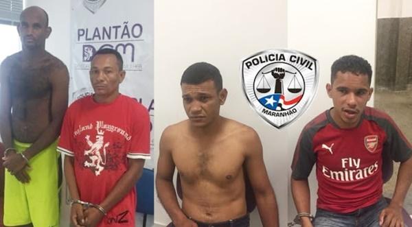 """Quatro acusados de violência doméstica são presos na operação """"Salve Maria"""" na região metropolitana de São Luís."""