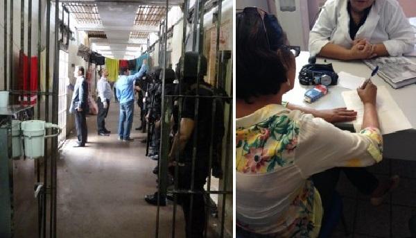 Psicóloga e assistente social do MPT entrevistaram trabalhadores.