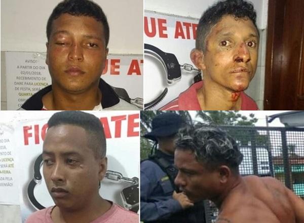27º BPM da Polícia Militar de Rosário, prende assaltantes dos Correios em Humberto de Campos.