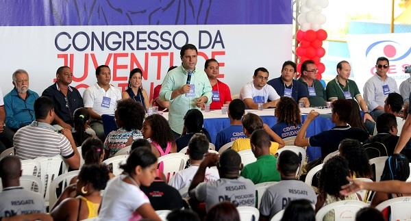 REUNIÃO DO PDT TEM A PRESENÇA DE EDVALDO HOLANDA JUNIOR.