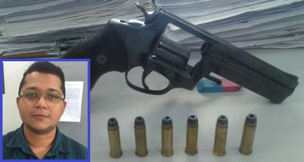 Rafael Carneiro da Silva Sobrinho foi preso na tarde desta quinta-feira (2). Ele foi preso por porte ilegal de arma de fogo.