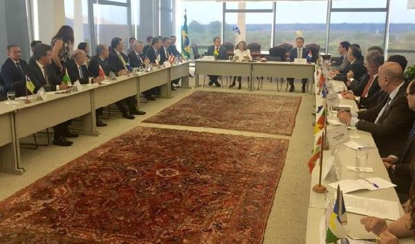 24 governadores se reuniram nesta terça-feira (13) com a presidente do Supremo Tribunal Federal (STF), ministra Cármen Lúcia.