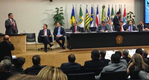Reunião governadores do Nordeste.