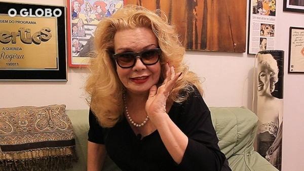 Estado de saúde da atriz Rogéria ainda é grave, diz o empresário.