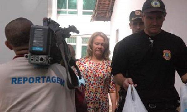 Sônia Campos chegou a ser investigada e presa na Operação Rapina.