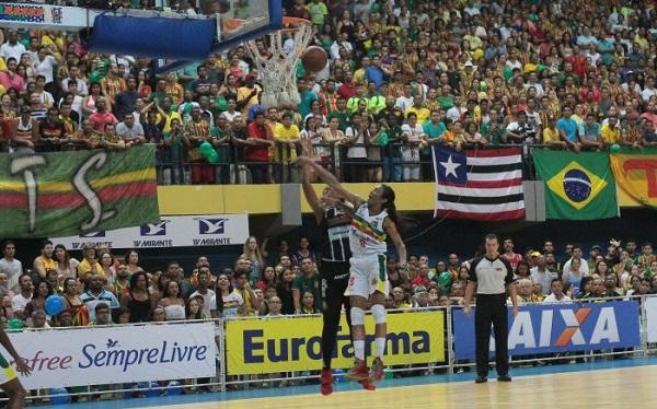 O time maranhense venceu o Jogo 4 da Final contra o Corinthians/Americana, por 78 a 50.