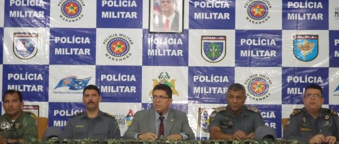 SECRETARIO JEFFERSON E O CMT DA PMMA.