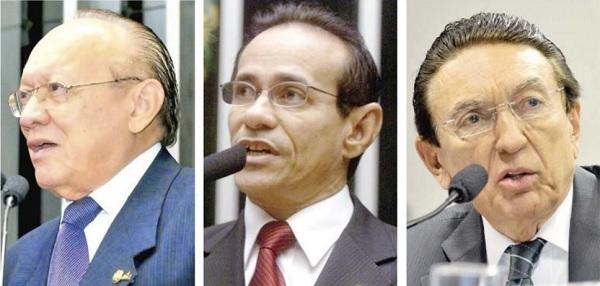 SENADORES JOÃO ALBERTO, PINTO DA ITAMARATY E LOBÃO OPINAM PELA NÃO REELEIÇÃO.