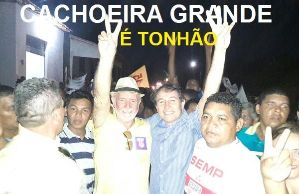 SUPLENTE DE SENADOR PAULO MATOS ACOMPANHANDO SEU PRIMO TONHÃO.