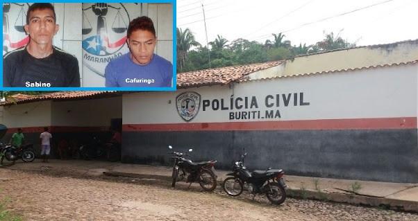 """Sabino Neto Cardoso dos Santos e Leonardo Vieira Silva, o """"Cafuringa"""" foram levados por prováveis 'justiceiros' na madrugada deste domingo."""