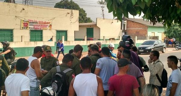 Silvia Margarida foi morta com a própria arma em frente a Associação de Moradores do bairro Caranazal.